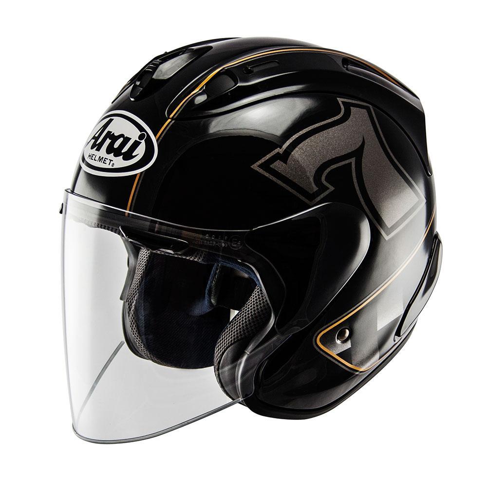 e9efc84e Arai SZ Ram X Cafe Racer Black buy and offers on Motardinn