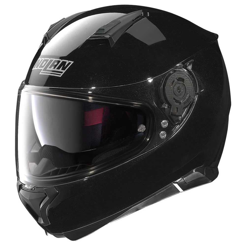 Nolan N87 Rapid Full Face Motorcycle Crash Helmet White Black Ex Display