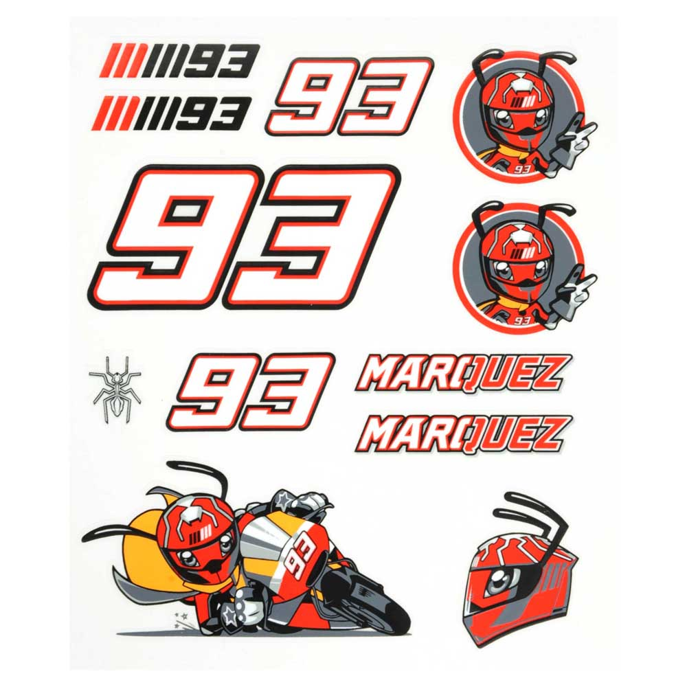 Marc marquez mm93 medium stickers