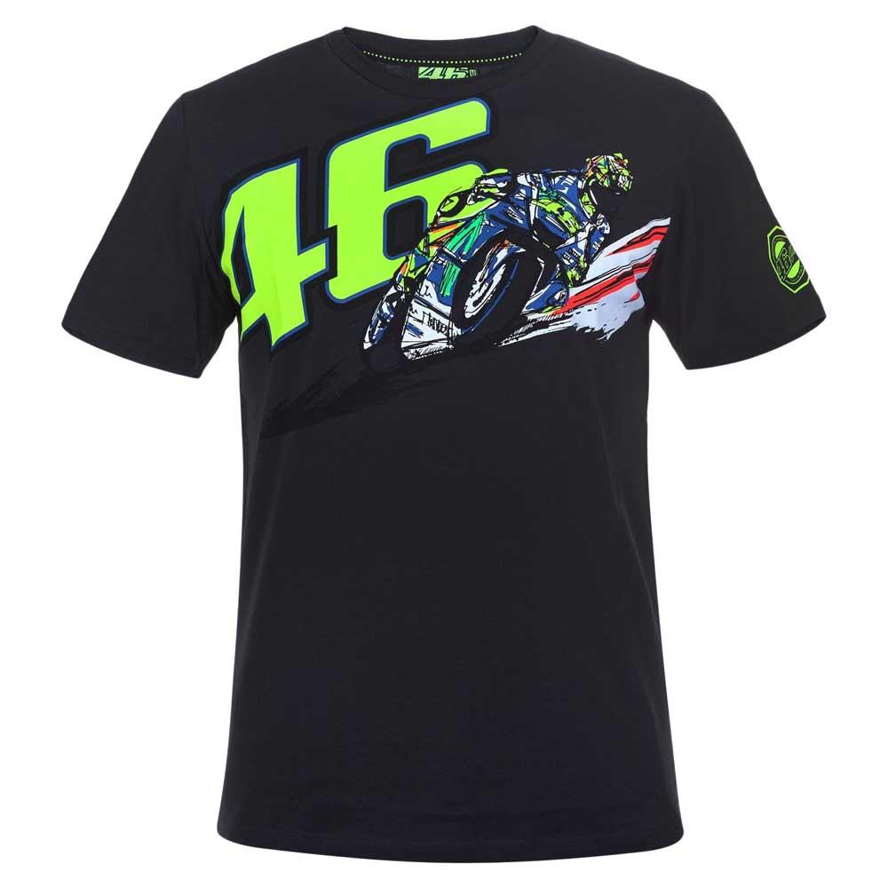 Vr46 T Shirt 46 Valentino Rossi Motardinn