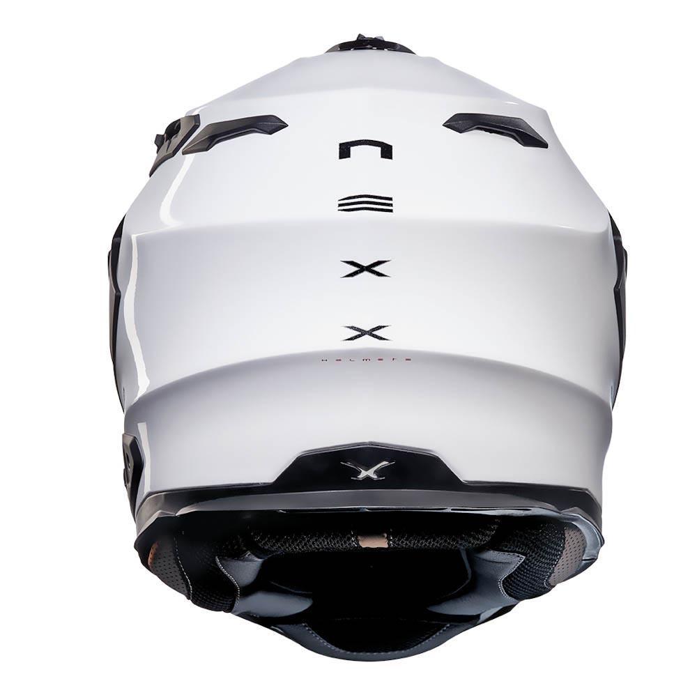 f46aa9bb Nexx X Wed 2 Plain White buy and offers on Motardinn