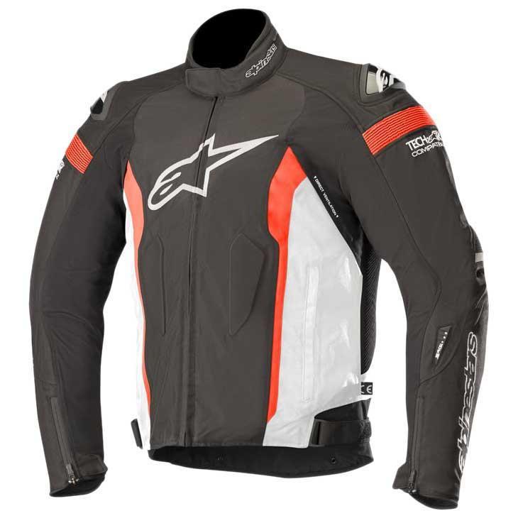 Tech-air Compatible Black Black S Motorcycle jackets Alpinestars T-missile Air Jacket Black//Black