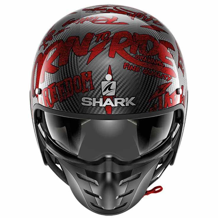 shark s drak freestyle cup red buy and offers on motardinn. Black Bedroom Furniture Sets. Home Design Ideas