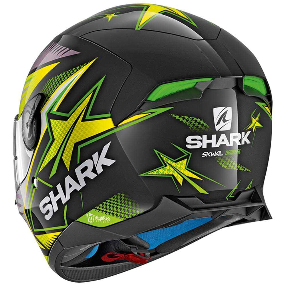 shark skwal 2 draghal green buy and offers on motardinn. Black Bedroom Furniture Sets. Home Design Ideas