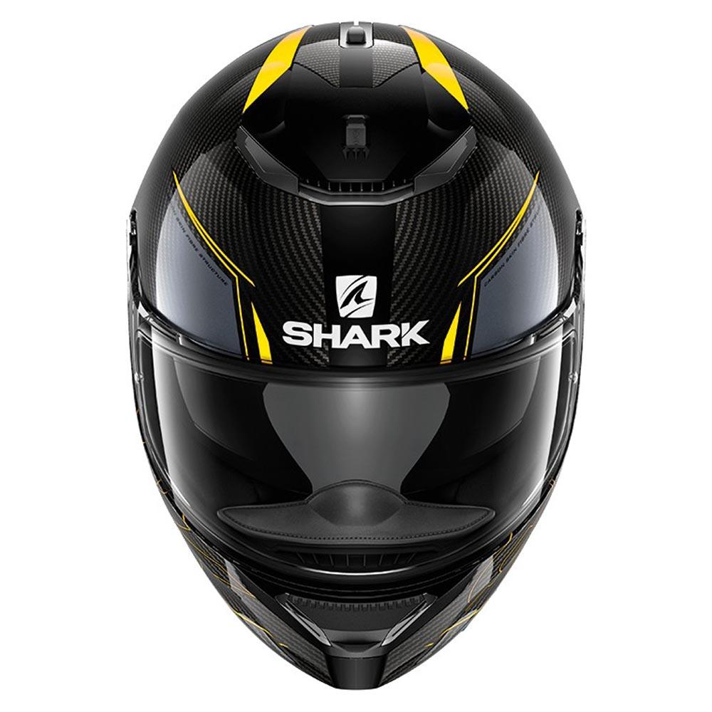 shark spartan carbon silicium black buy and offers on motardinn. Black Bedroom Furniture Sets. Home Design Ideas