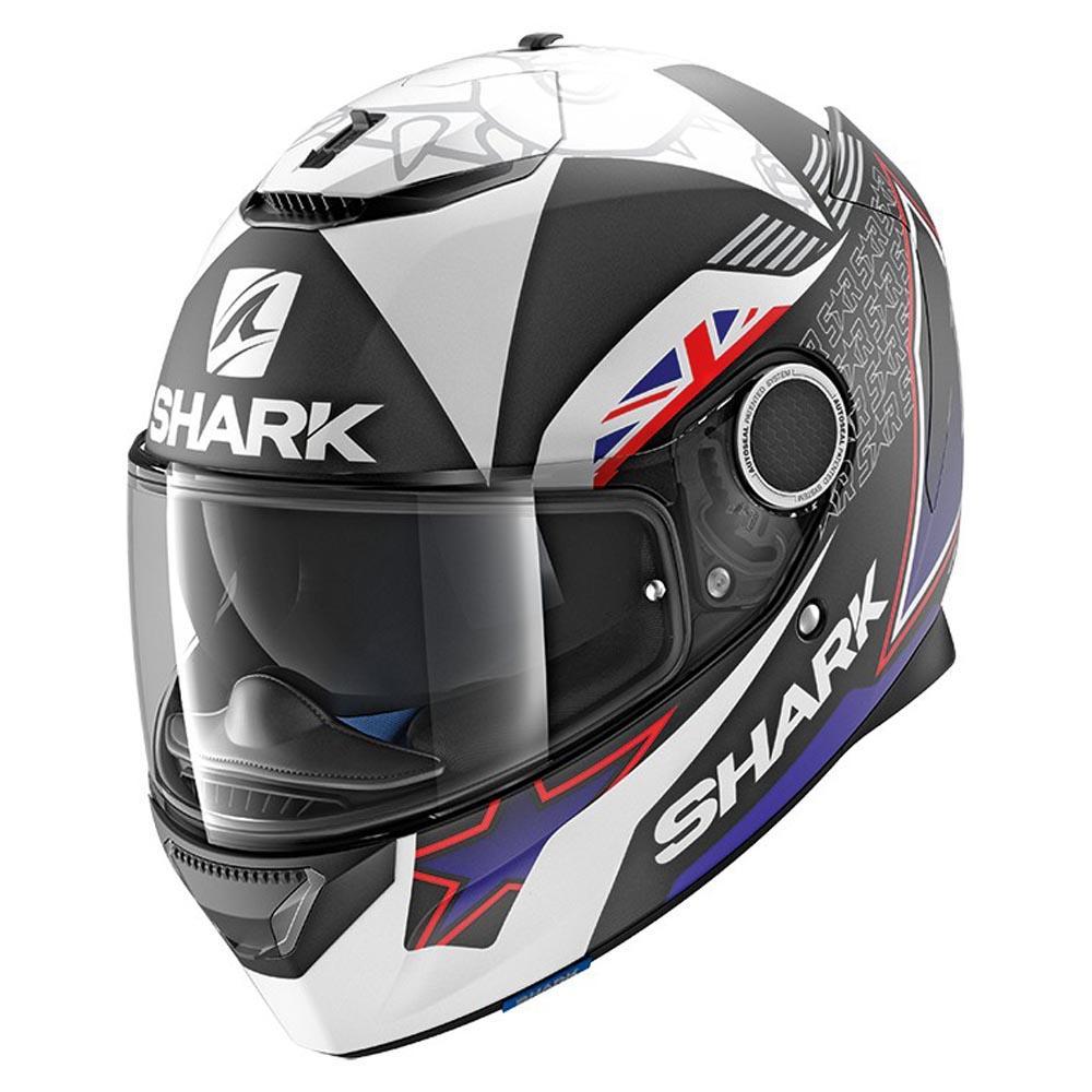Shark Spartan Replica Redding Mat Black Motardinn