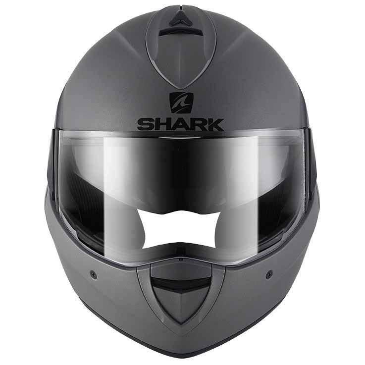 Shark Evoline 3 Blank Mat Grey Buy And Offers On Motardinn