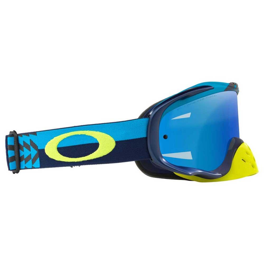 9cb3263b95 Oakley Crowbar MX Blue buy and offers on Motardinn