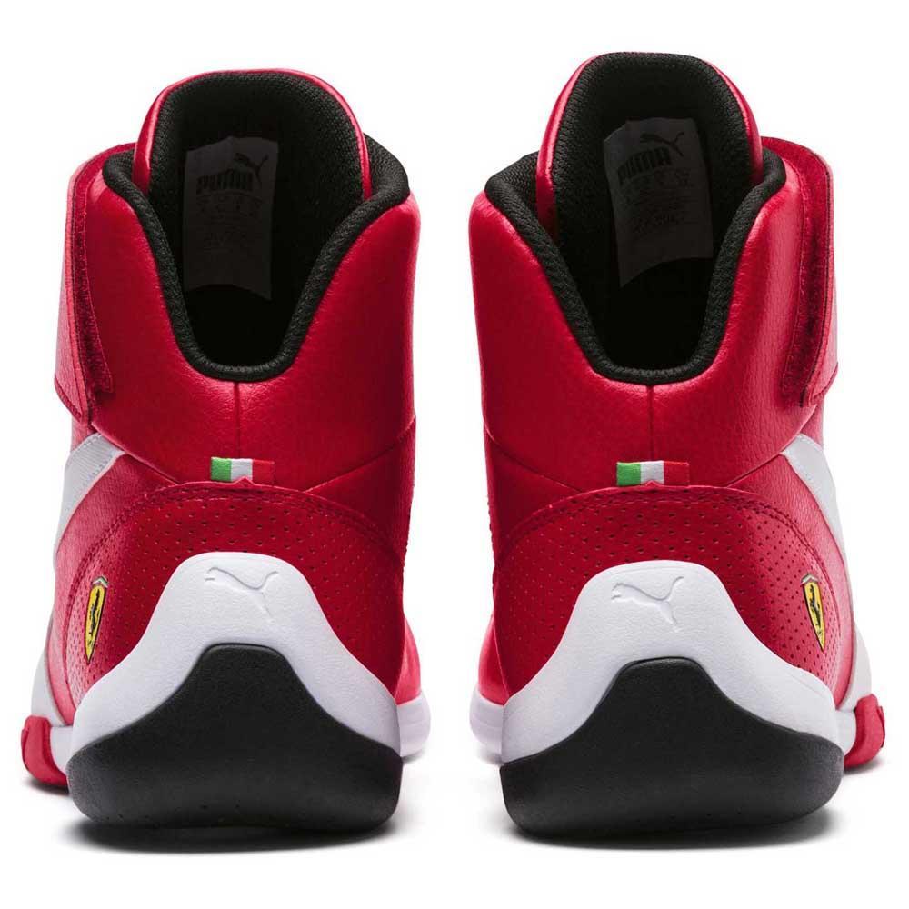 87cb1e24a30ae7 Puma Scuderia Ferrari Kart Cat Mid III Red