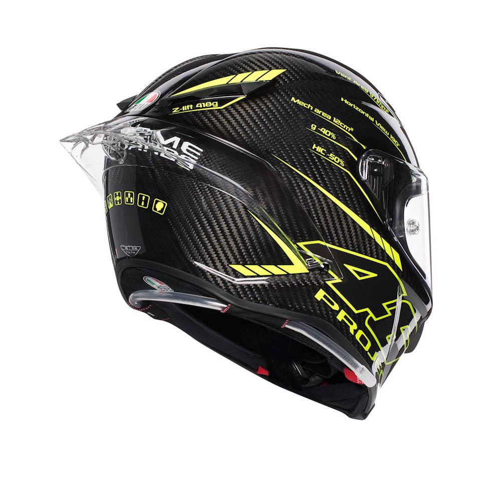 3d7f7ef6 AGV Pista GP R Project 46 3.0 Carbon Black, Motardinn