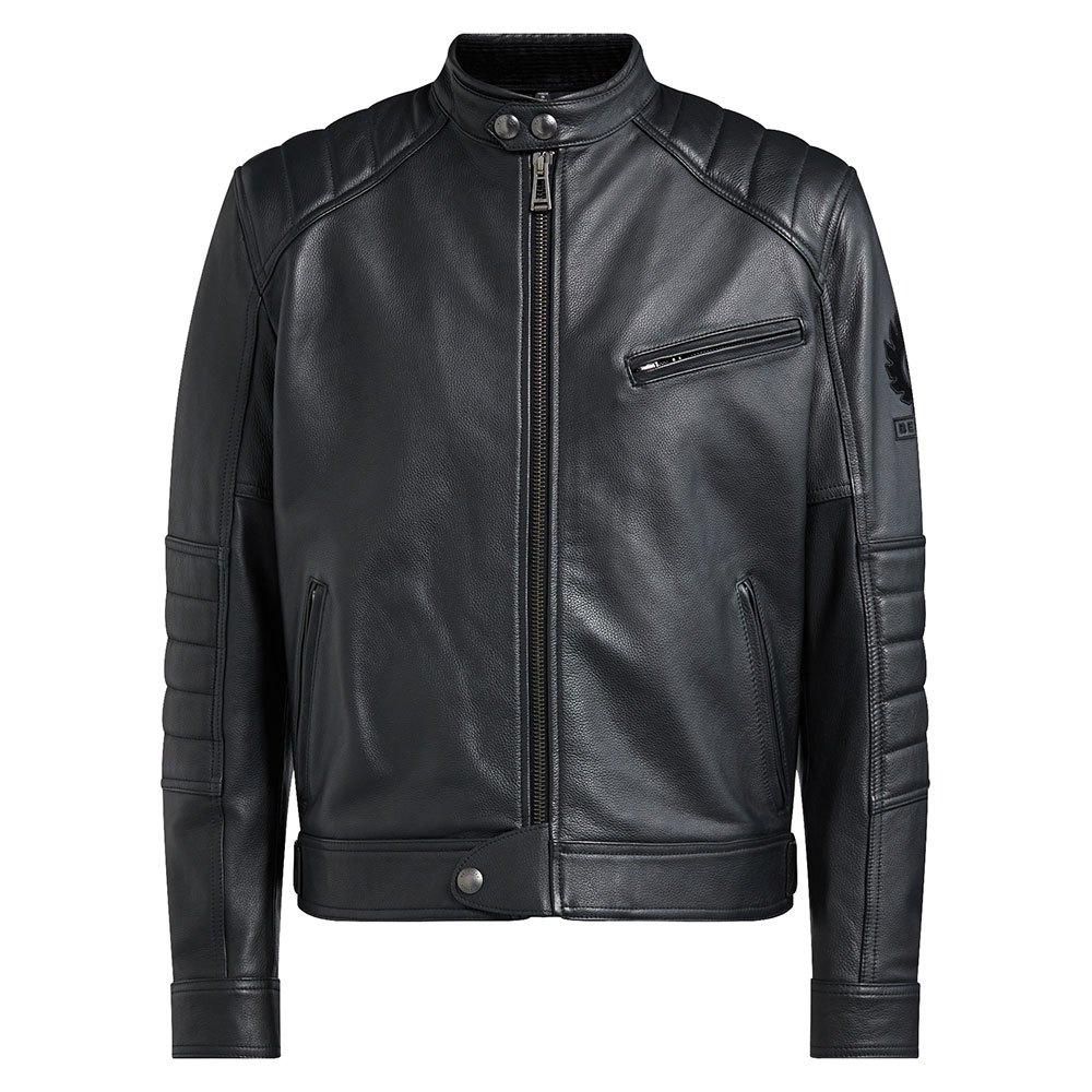 f94d051441 Belstaff Riser Leather Black buy and offers on Motardinn