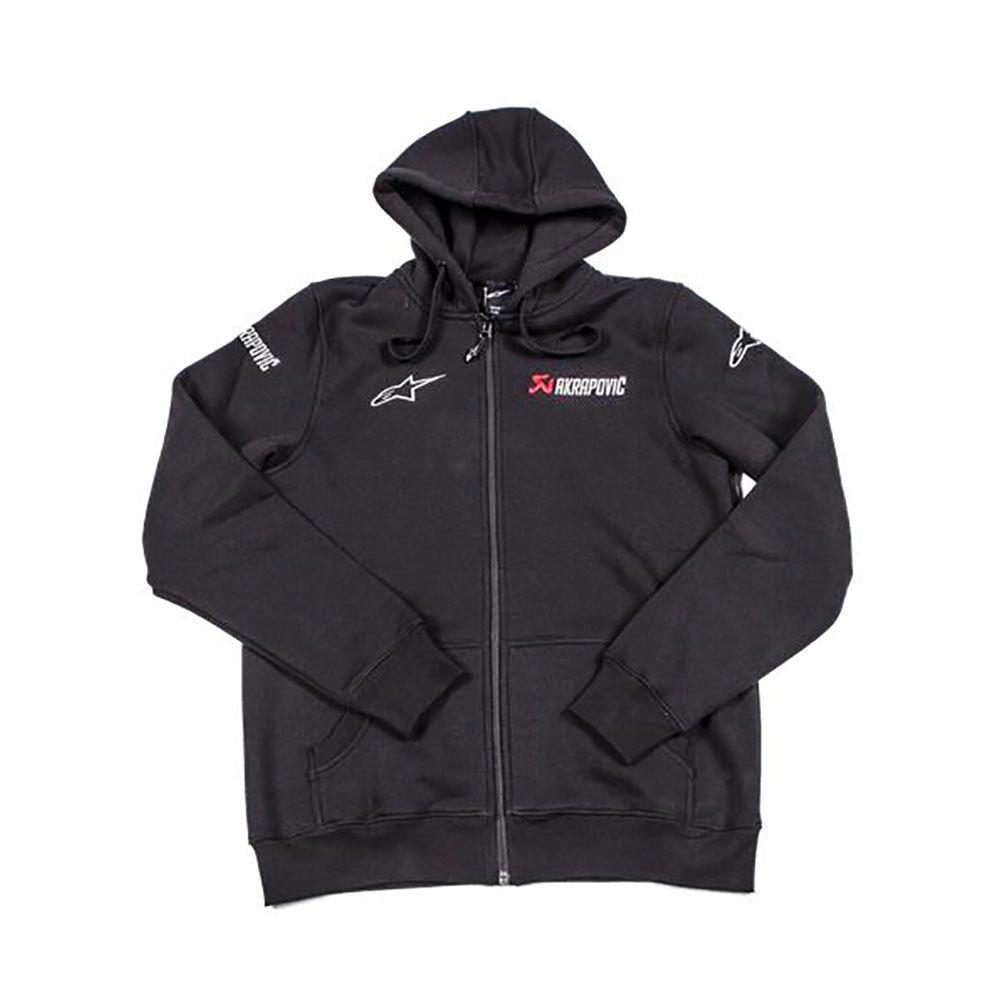Super Akrapovic Alpinestars Black buy and offers on Motardinn TI-86