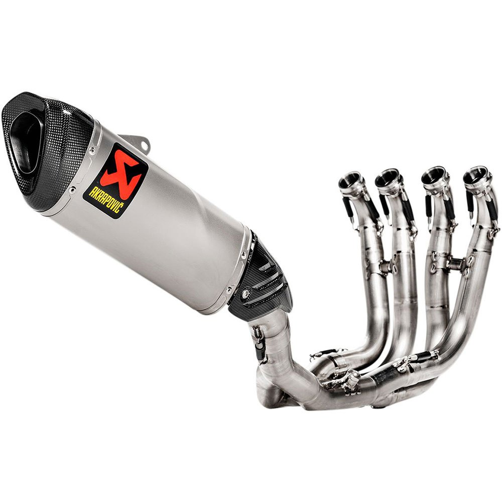 akrapovic exhaust racing stainless steel titanium s1000rr ref s b10r4 aplt