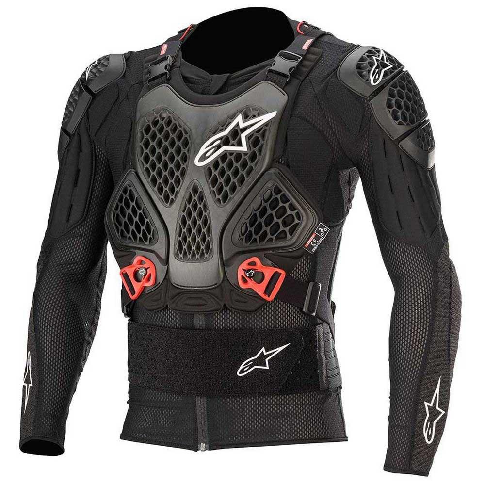 Alpinestars Bionic Tech Protective Jacket Black//Red All Sizes