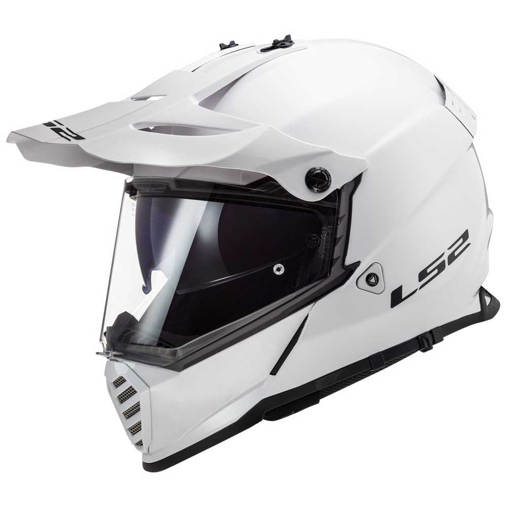 official images in stock look out for Ls2 MX436 Pioneer Evo White buy and offers on Motardinn