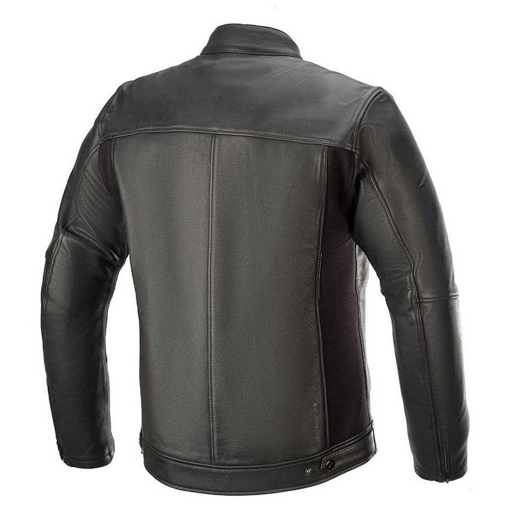 Alpinestars Topanga Leather Jacket Black Motardinn