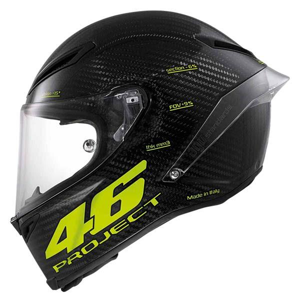 agv pista gp w rossi project 46 edition limited motardinn. Black Bedroom Furniture Sets. Home Design Ideas