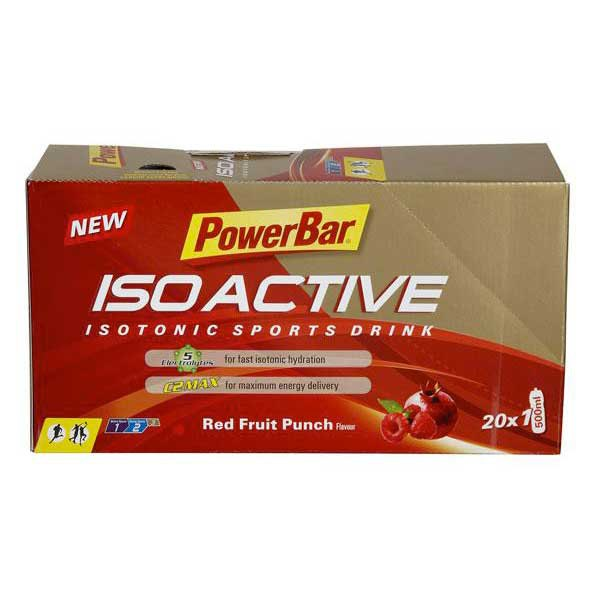 Powerbar Isoactive Sachet Red Fruits Box 20