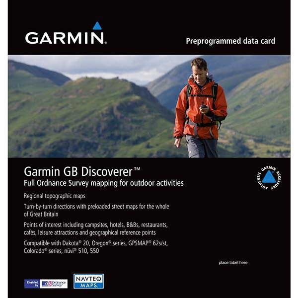Garmin Gb Discoverer North Yorkshire Moors