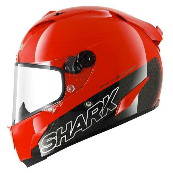 shark race r pro carbon blank red buy and offers on motardinn. Black Bedroom Furniture Sets. Home Design Ideas