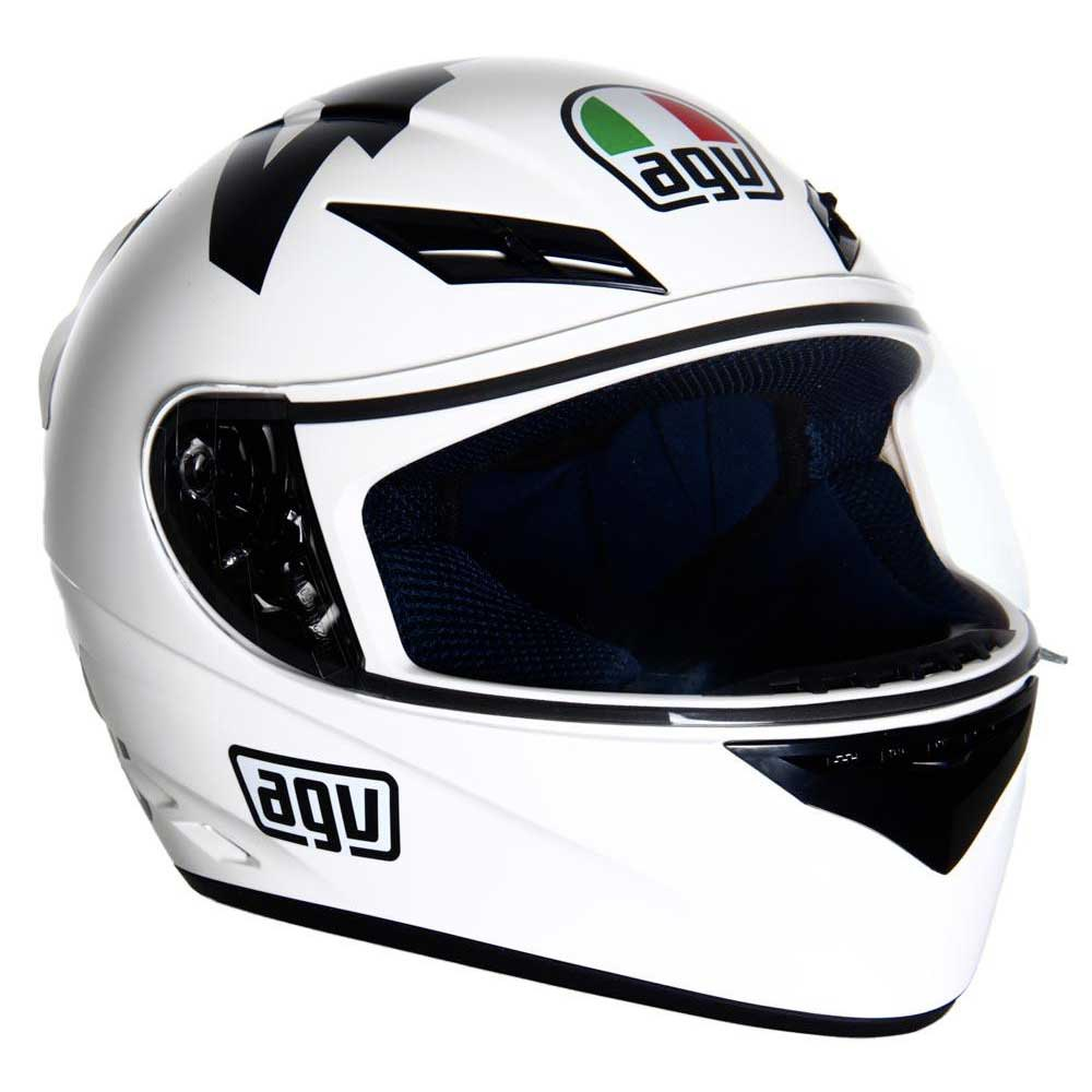 Full Motorcycle Helmet >> AGV K3 Helmet buy and offers on Motardinn