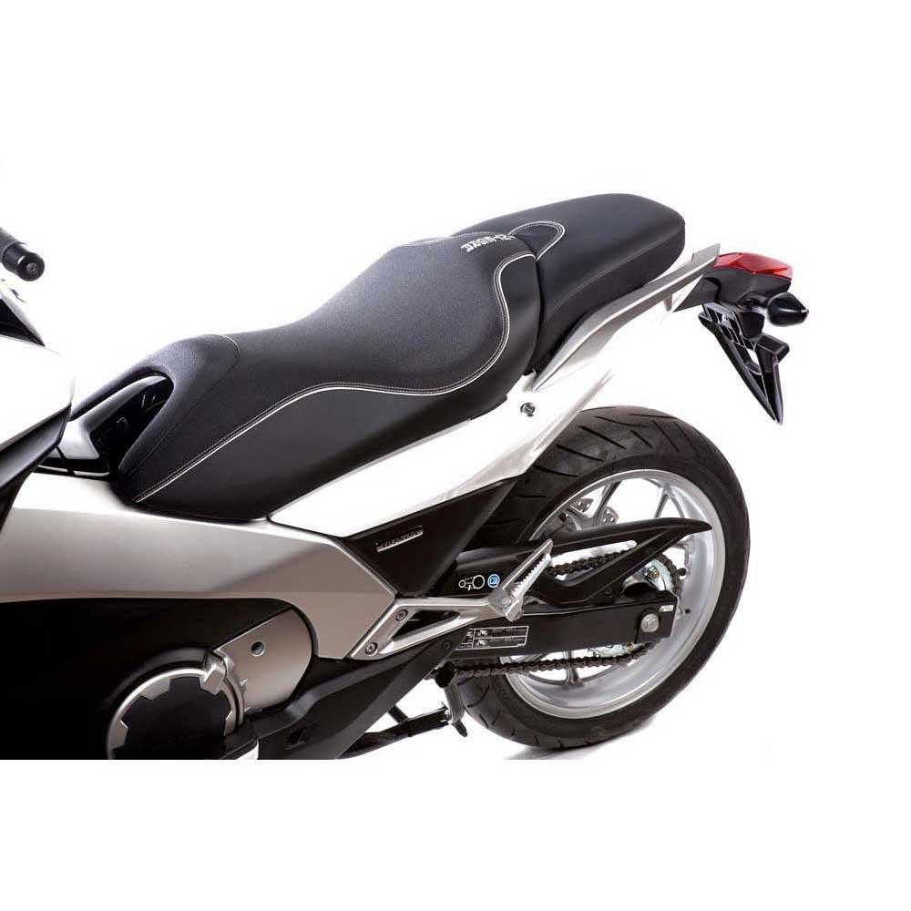 shad comfort seat honda integra 700 black motardinn. Black Bedroom Furniture Sets. Home Design Ideas