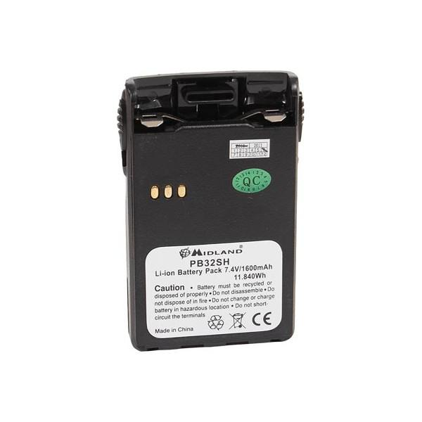 Midland Rechargeable Battery PB 32SH