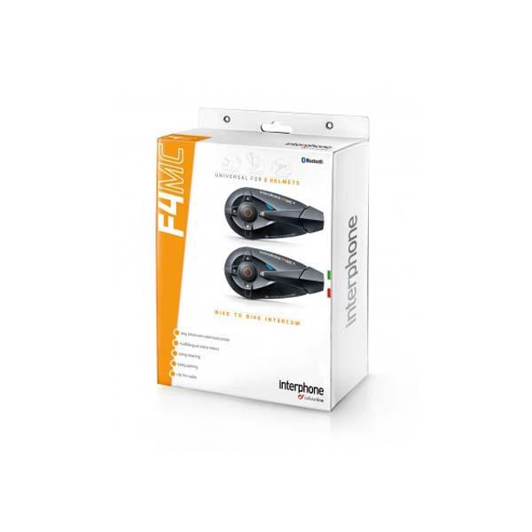 Interphone cellularline Interphone F4MC Twin Pack