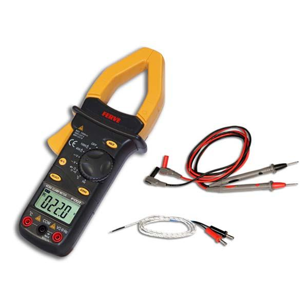 Ferve Ammeter Clamp and Digital Multimeter F1707