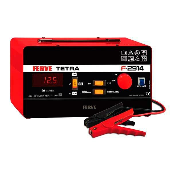 Ferve Automatic Charger Tetra 1224V 12A F2914