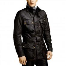 Belstaff Classic Tourist Trophy 10oz. Waxed Cotton Jacket
