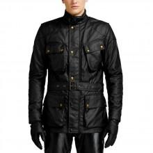 Belstaff Classic Tourist Trophy 6oz. Waxed Cotton Jacket