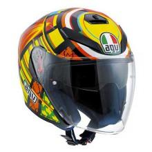 AGV K5 Jet Elemments Rossi Replica