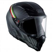 AGV AX 8 Naked Carbon Forest