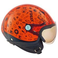 Nexx SX.60 Kids Spock Neon Orange