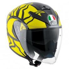 AGV K5 Jet Winter Test 2011 Rossi Rplica