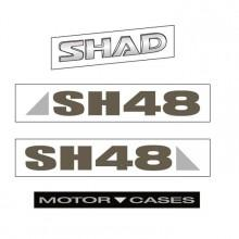 Shad SH48 Shad Stickers