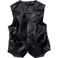 Spirit motors Leather Vest 1 0 Buttoned