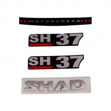 Shad SH37 Stickers