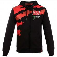 Vr46 Fleece Full Zip Hoodie Maverick Viñales