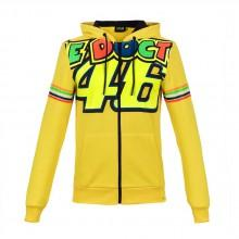 Vr46 Stripes Fleece Full Zip Hoodie Classic