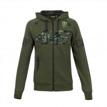 Vr46 Camp Fleece Full Zip Hoodie Monster