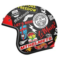Mt helmets Le Mans 2 SV Anarchy