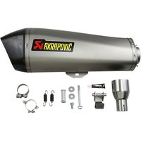 Akrapovic Muffler MP3 400-500/Satelis 400/Fuoco 400-500/Beverly 400-500/Xevo 400