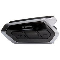 Sena 50R Low Profile Motorcycle Bluetooth Communication System W/Mesh Intercom Dual Pack
