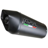 Gpr exhaust systems Furore Evo4 Carbon Slip On RX 125 18-19 Euro 4 Homologated