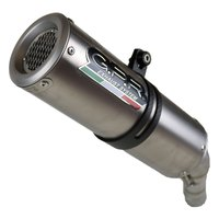 Gpr exhaust systems M3 Natural Titanium Dual Slip On Monster 1100 09-10 CAT Homologated