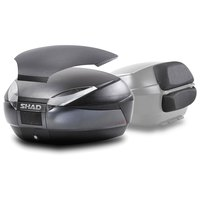 Shad Top Case SH48 With Carbon Cover And Backrest