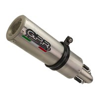 Gpr exhaust systems M3 Stainless Steel ZT 125 G1/U1 20-21 CAT Homologated