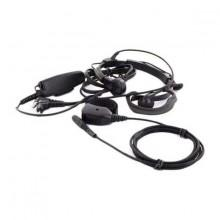 Midland Throat Microphone Headset with PTT and Finger PTT AE 38